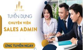 Chuyên viên Sales Admin